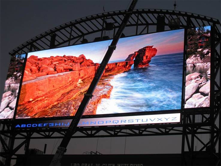 LED screens OUTDOOR 2 - Видеобуквы